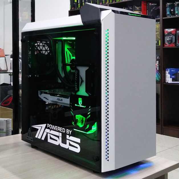 POWERED BY ASUS Intel Core i7-8700k, GTX1060 6Gb