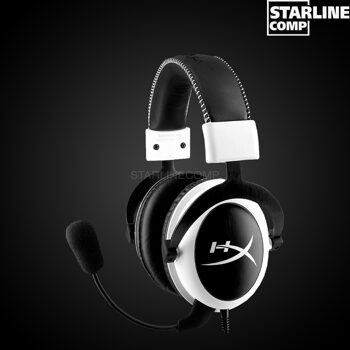 ИГРОВЫЕ НАУШНИКИ HYPERX CLOUD GAMING HEADSET WHITE