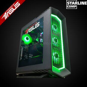 POWERED BY ASUS Intel Core i7-9700KF, RTX2080Ti 11Gb, SSD 480Gb, HDD 2000Gb