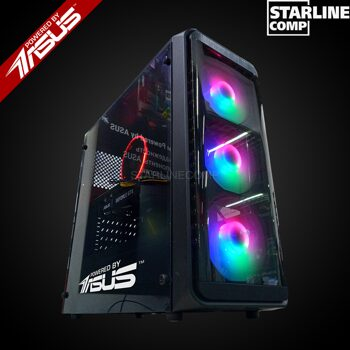 POWERED BY ASUS Intel Core i3-9100F, GTX1660Ti 6Gb, SSD 120Gb, HDD 1000Gb