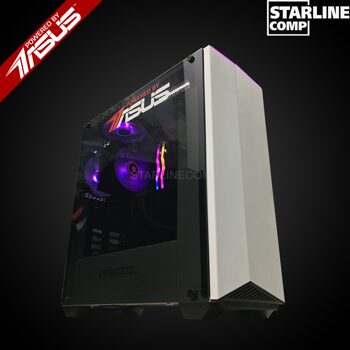 POWERED BY ASUS Intel Core i7-8700, GTX1660Ti 6Gb, SSD 120Gb, HDD 1000Gb