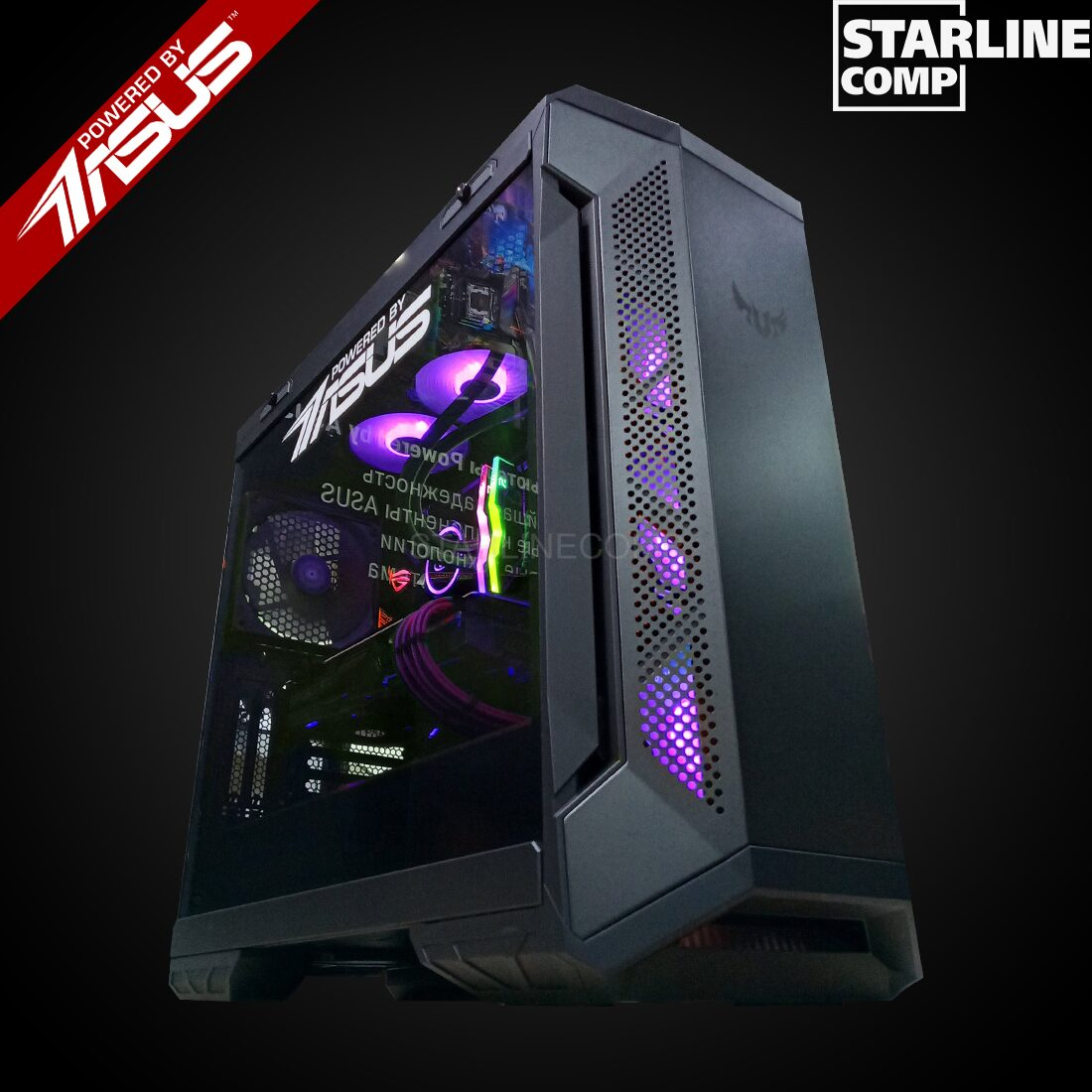 POWERED BY ASUS Intel Core i7-9700KF, RTX2080 Super 8Gb, SSD 500Gb,RAM 32 gb HDD 2000Gb
