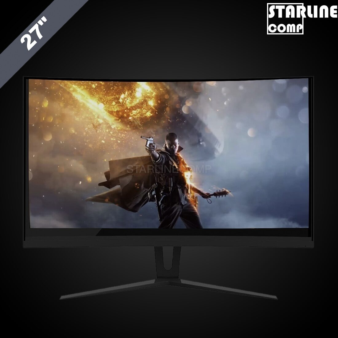 ИГРОВОЙ МОНИТОР GAMEMAX GMX27C144 144Hz