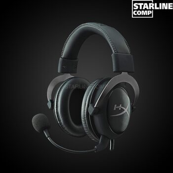 ИГРОВАЯ ГАРНИТУРА HYPERX CLOUD II PRO HEADSET GUN METAL