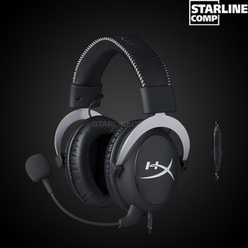 ИГРОВЫЕ НАУШНИКИ HYPERX CLOUD GAMING HEADSET SILVER